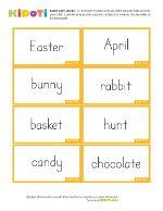 Easter Cards Activity Worksheet