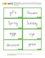 Easter Words Cards2