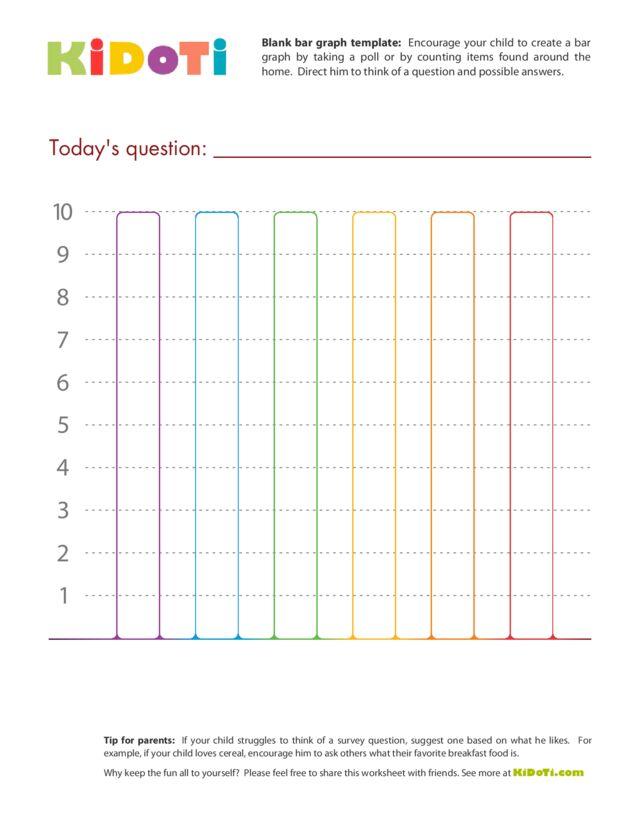 Blank Bar Graph Template