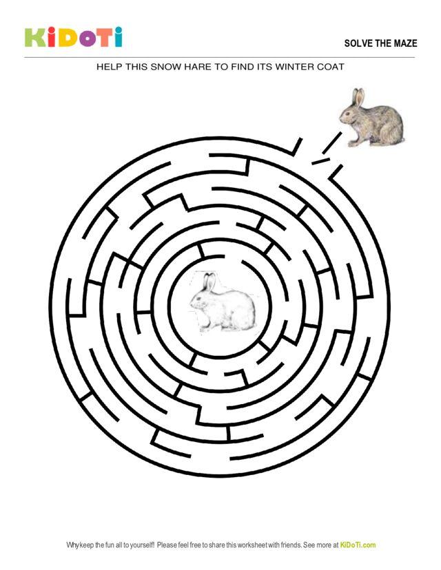 Hare Maze