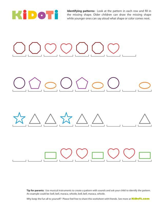 Identifying Patterns (2)