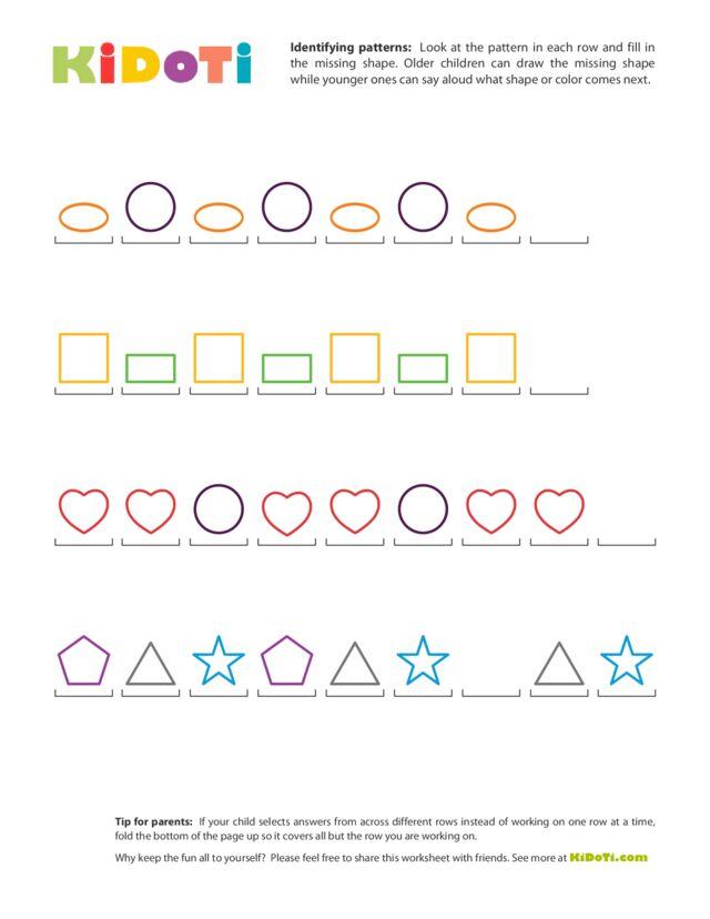 Identifying Patterns (3)