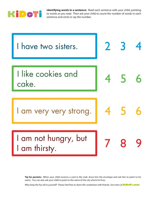 Identifying Words 3