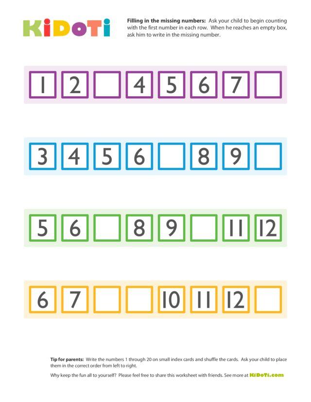 Missing Numbers (2)