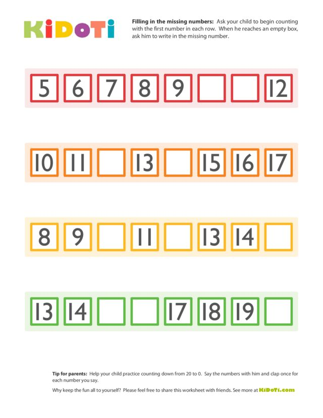Missing Numbers (3)
