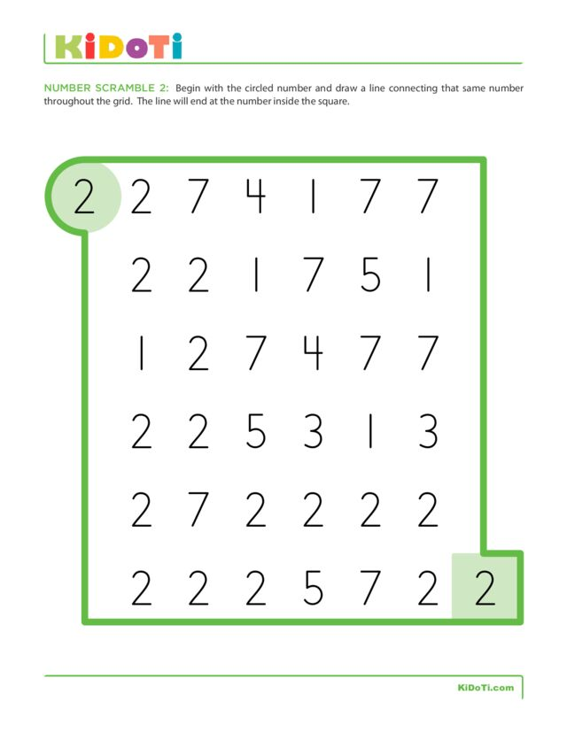 Number Scramble 2