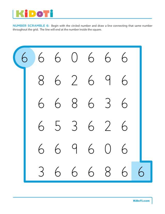 Number Scramble 6