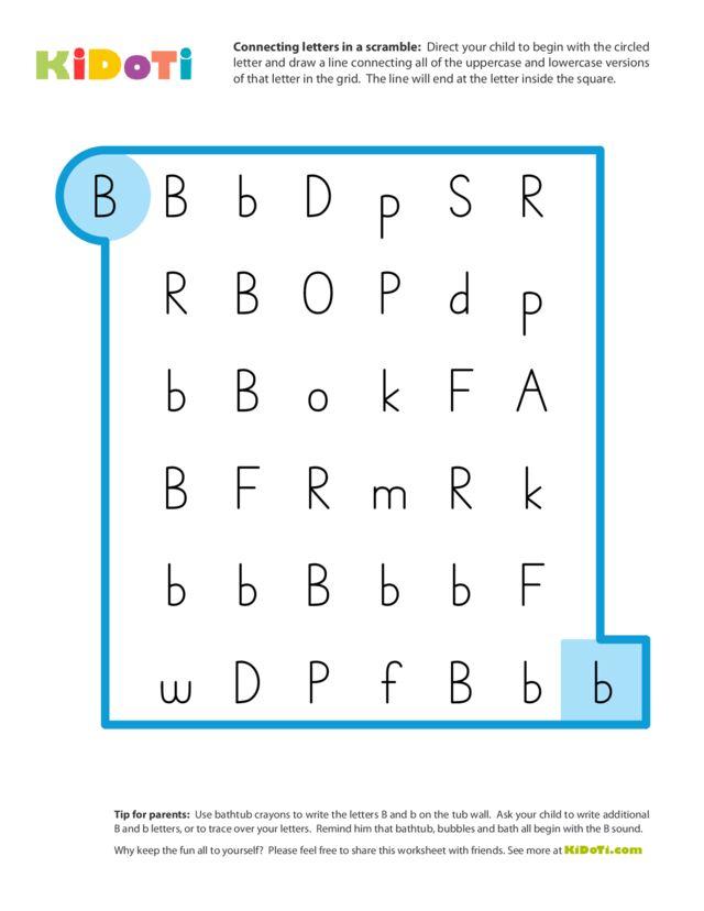 Scramble Letter B