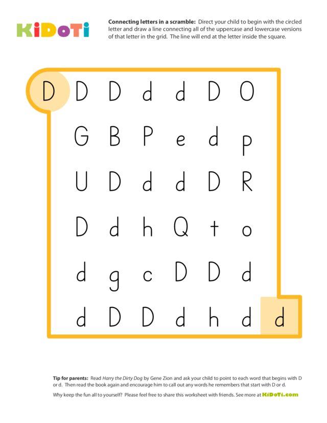 Scramble Letter D