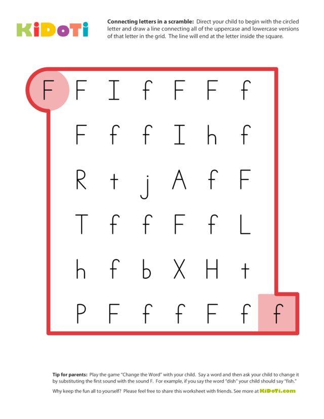 Scramble Letter F