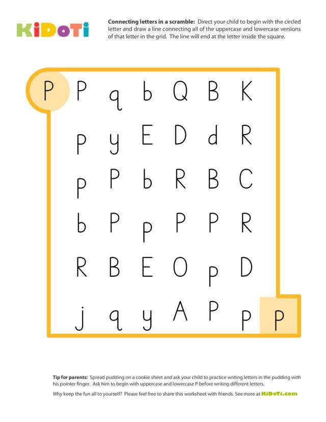 Scramble Letter P