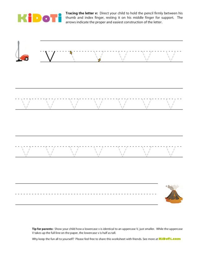 Tracing Lowercase v